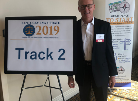 Austin Mehr Presents at Kentucky Law Update in Pikeville