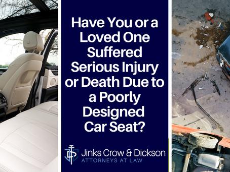 Defective Car Seatbacks in Accidents