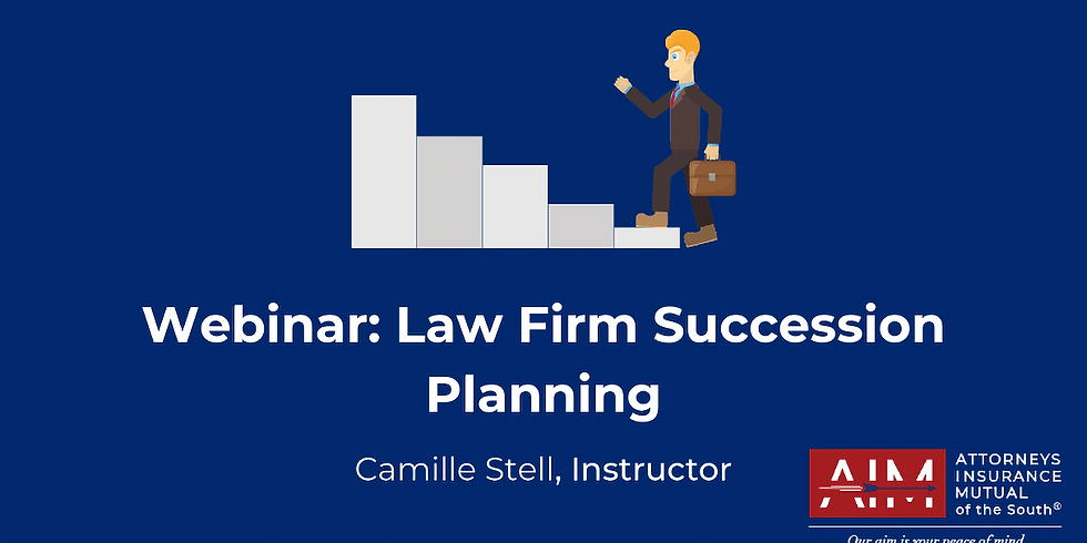 Law Firm Succession Planning