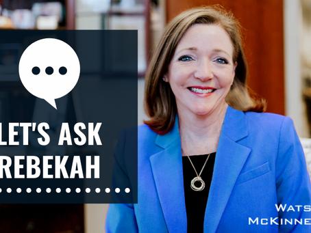 Let's Ask Rebekah