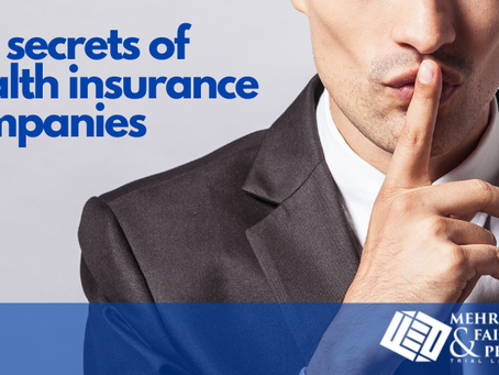 The Secrets of Health Insurance Companies
