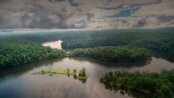 Aerial view of Tuscaloosa