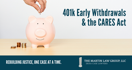 401k Early Withdrawals & the CARES Act