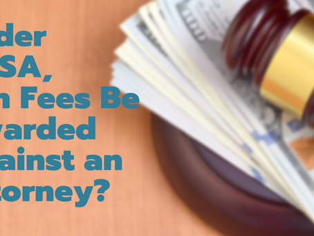 Under ERISA, Can Fees Be Awarded Against an Attorney?