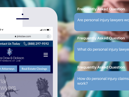 Frequently Asked Questions (FAQS) on Personal Injury Claims
