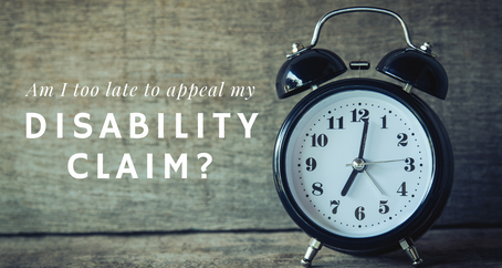 COVID Messed Me Up: Am I too late to appeal my disability claim?