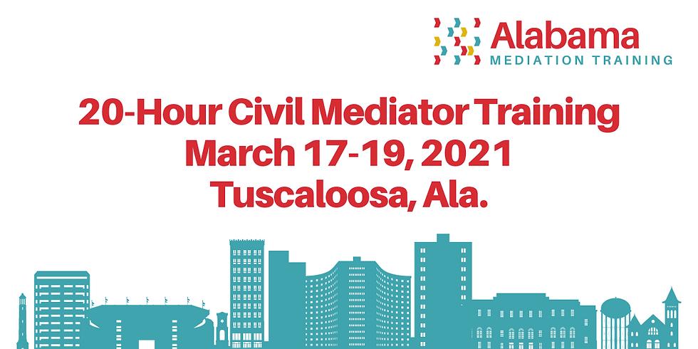 20-Hour Civil Mediation Training Session