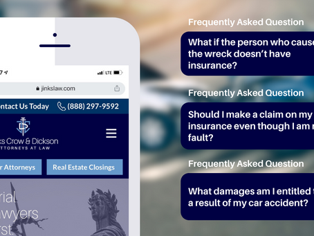Frequently Asked Questions (FAQs) on Car Accidents