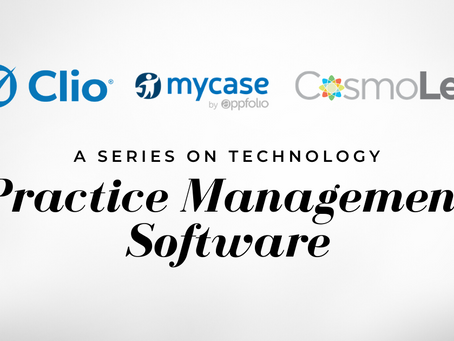 A Series on Technology: Practice Management Software