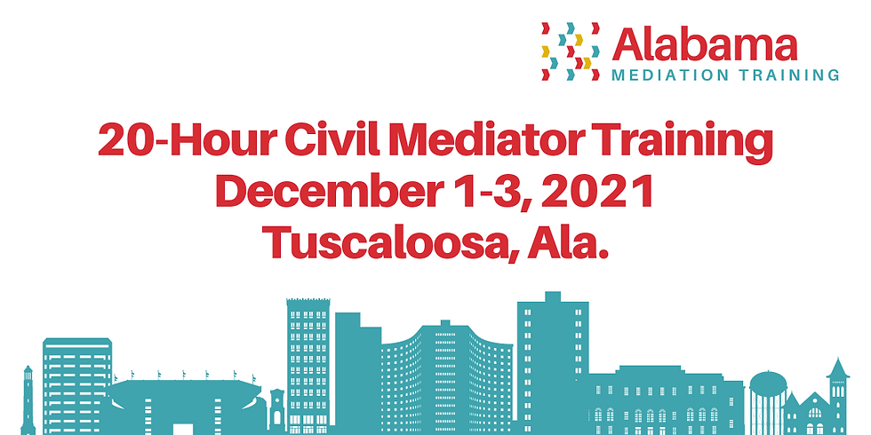 20-Hour Civil Mediation Training Session