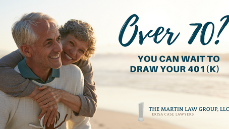 Over 70? You Can Wait to Draw Your 401(k)