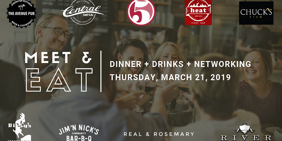 Young Tuscaloosa Meet & Eat Networking