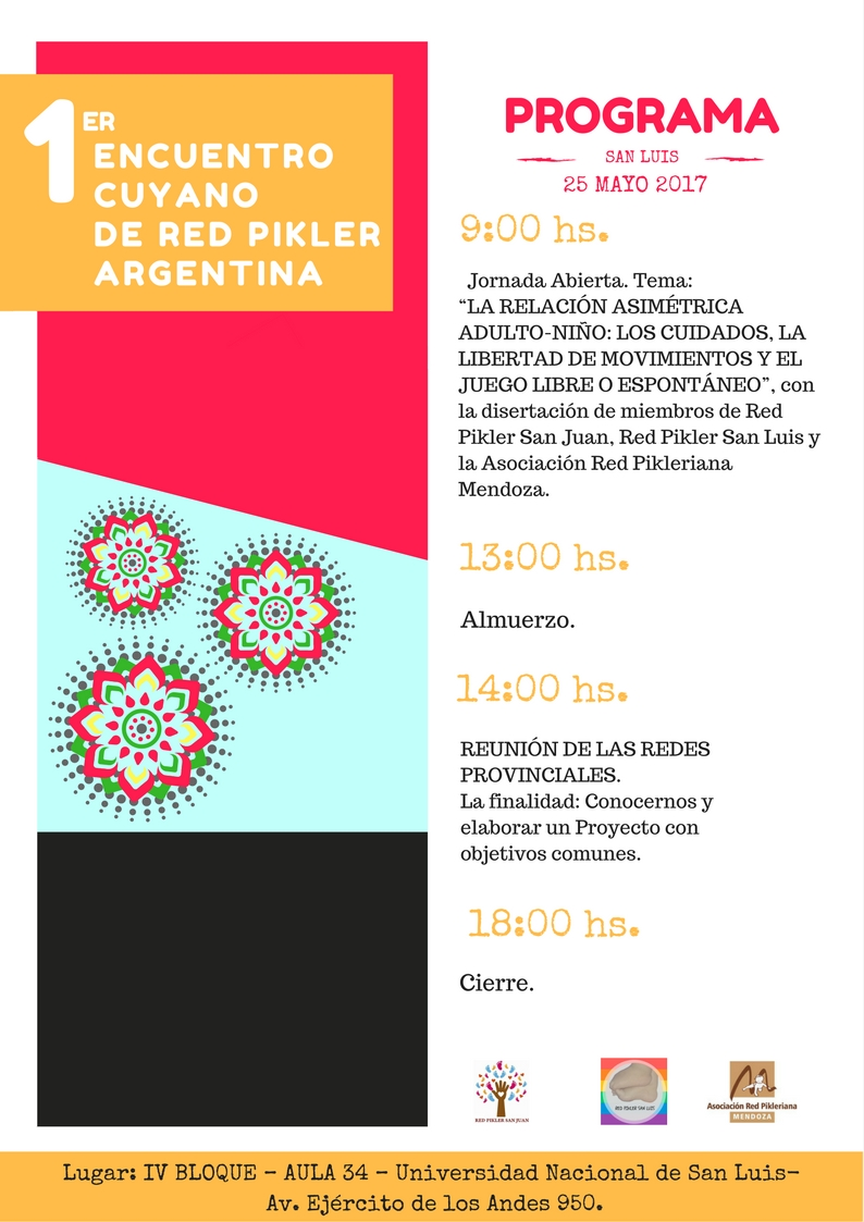PROGRAMA ENCUENTRO CUYANODE RED PIKLER ARGENTINA