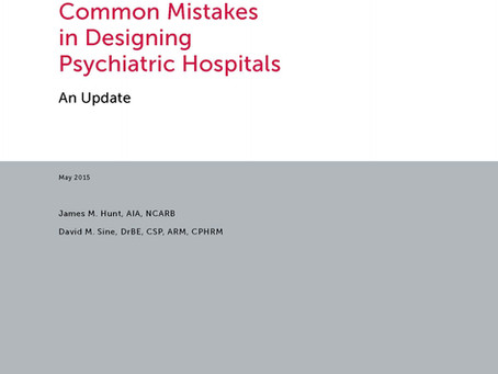 Common Mistakes in Designing Psychiatric Hospitals