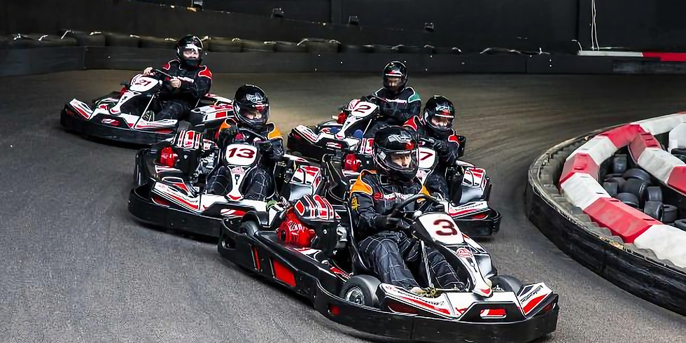 Go-Karting experience with Onel and HPE