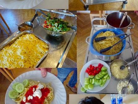 Großes Dankeschön an die Futterer-Stiftung für das Mittagessen in der Erziehungshilfestelle friz Ost