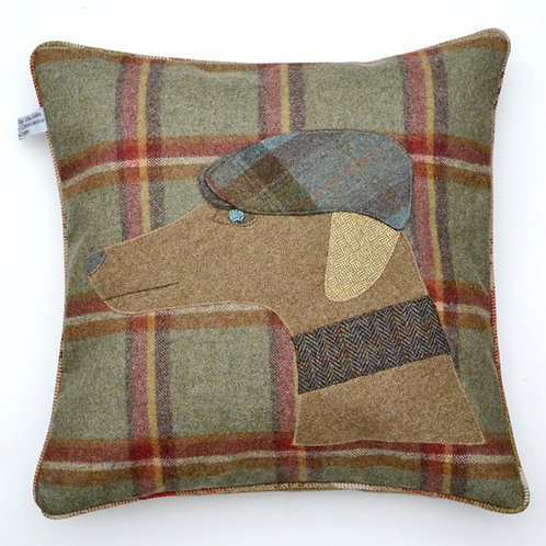 WHIPPET 20 INCH WOOL CUSHION