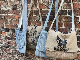 New Recycled coffee sack bags coming soon!