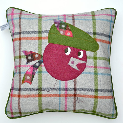 ROBIN 'HOOD' 20 INCH WOOL CUSHION
