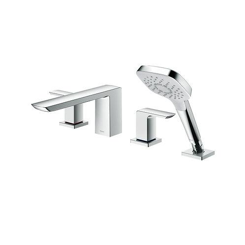 Grifería para ducha de dos llaves GR + duchador