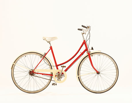 Red Lady's Bicycle