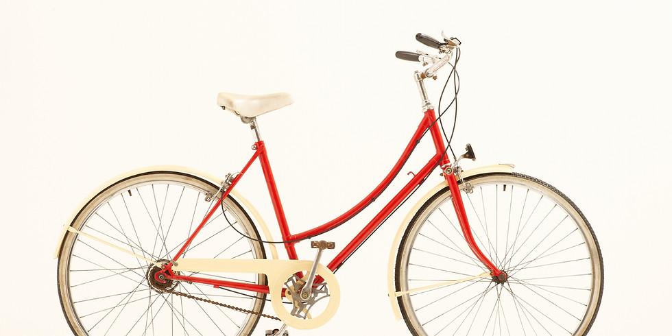 Grant Park Sculpture by Bike