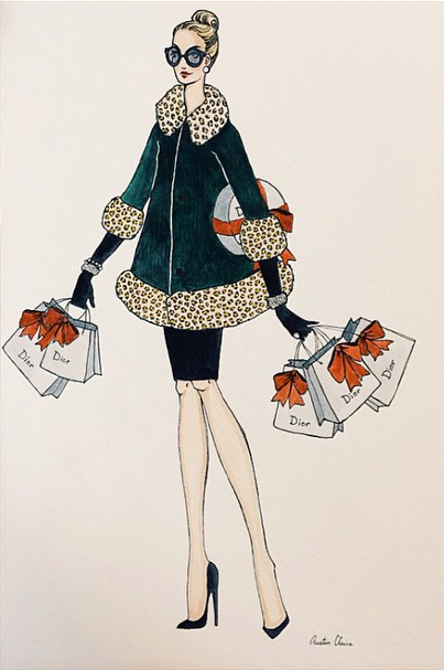 Christian Dior Beauty PR Holiday Card