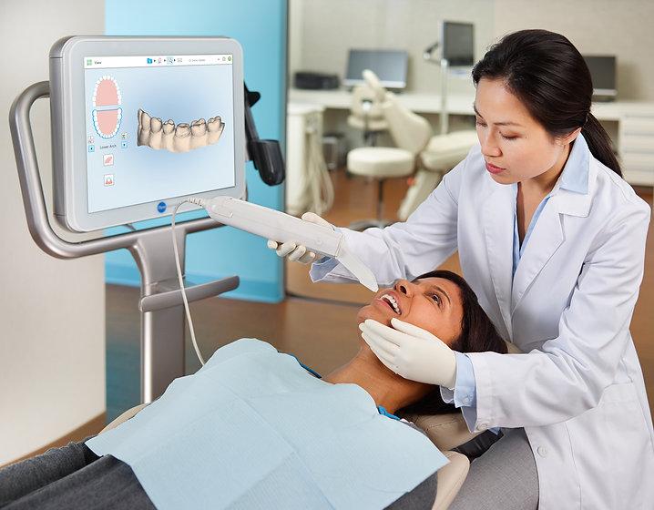 invisalign-belwell-dental-Patient-iTero-