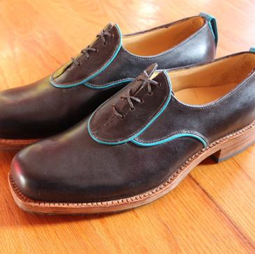 Midnight Welted Oxford Shoe