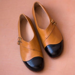 Local leather flats