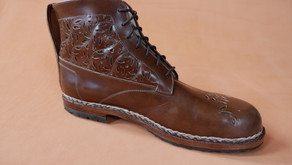 Handmade Ankle Boots--from Design to Finished Footwear