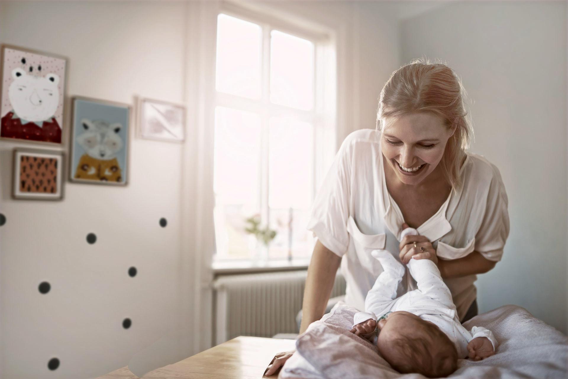 Schwangeren und Säuglings- Cranio