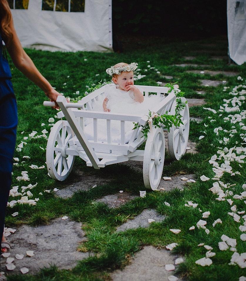 White Wood Wagon