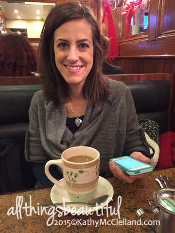 Late morning breakfast in a diner. Not the world's best coffee (cue Elf) but still.