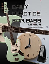 Daily Practice for Bass 4 with green bac