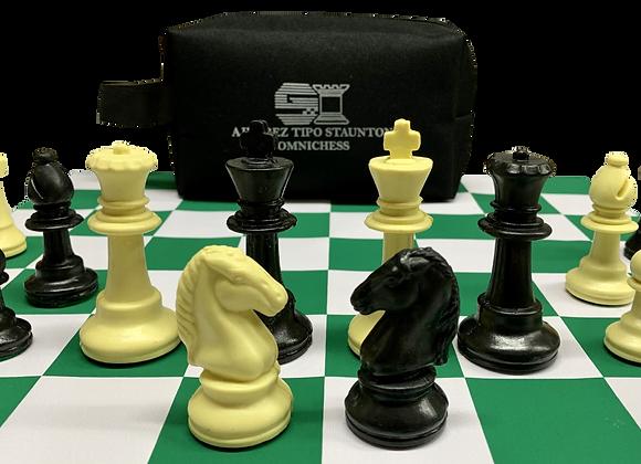 Semiprofesional Omnichess Negro/Beige 400 g