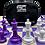 Thumbnail: Mayoreo 10 Juegos Ajedrez Ferriz 650 gr Negro/Blanco