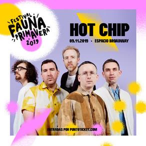 Hot Chip dirá presente en Fauna Primavera 2019