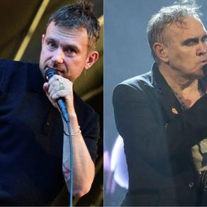 Damon Albarn crítica a Morrissey por su apoyo a la extrema derecha