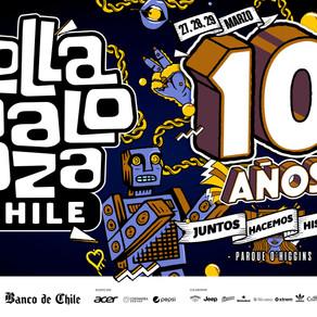 Lollapalooza Chile 2020 revela horarios de su décima versión