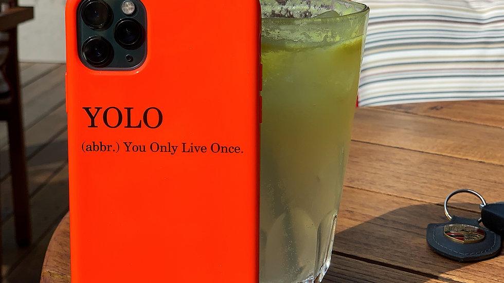 Элит-кейс на iPhone #YOLO