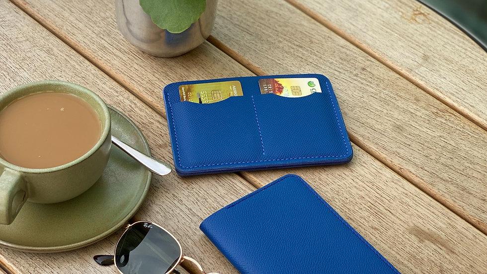 Обложка на паспорт Saffiano/ Electric Blue
