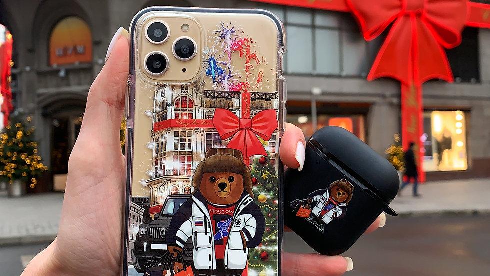 Элит-кейс на iPhone Bear Moscow Gelandewagen