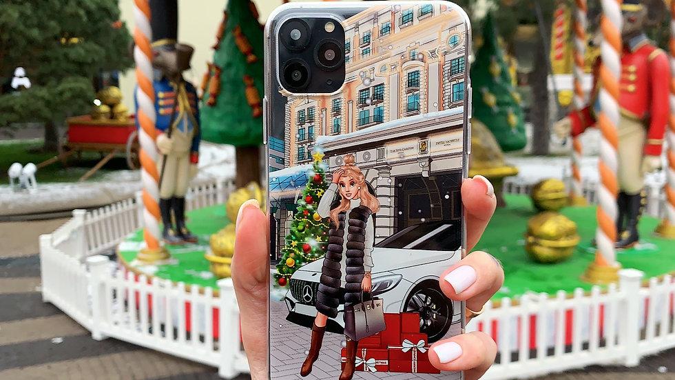 Классический премиум- кейс на iPhone Belle Ritz Moscow