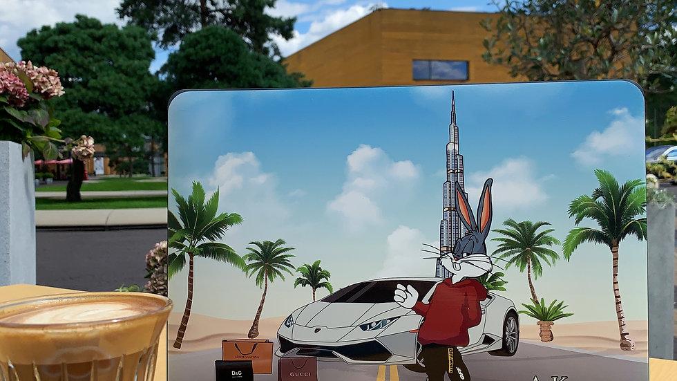Премиум-кейс на MacBook Bunny Burj Khalifa