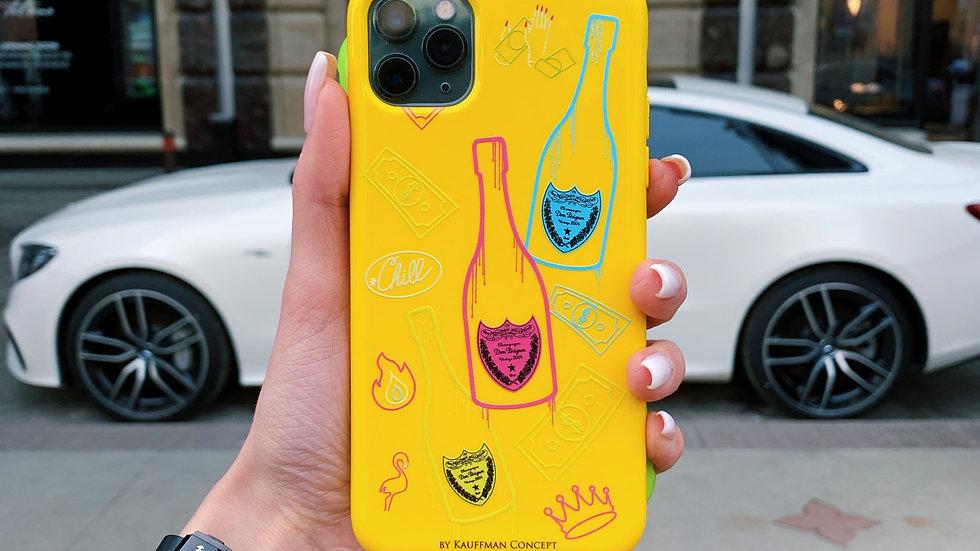 Элит- кейс на iPhone Neon Peignon