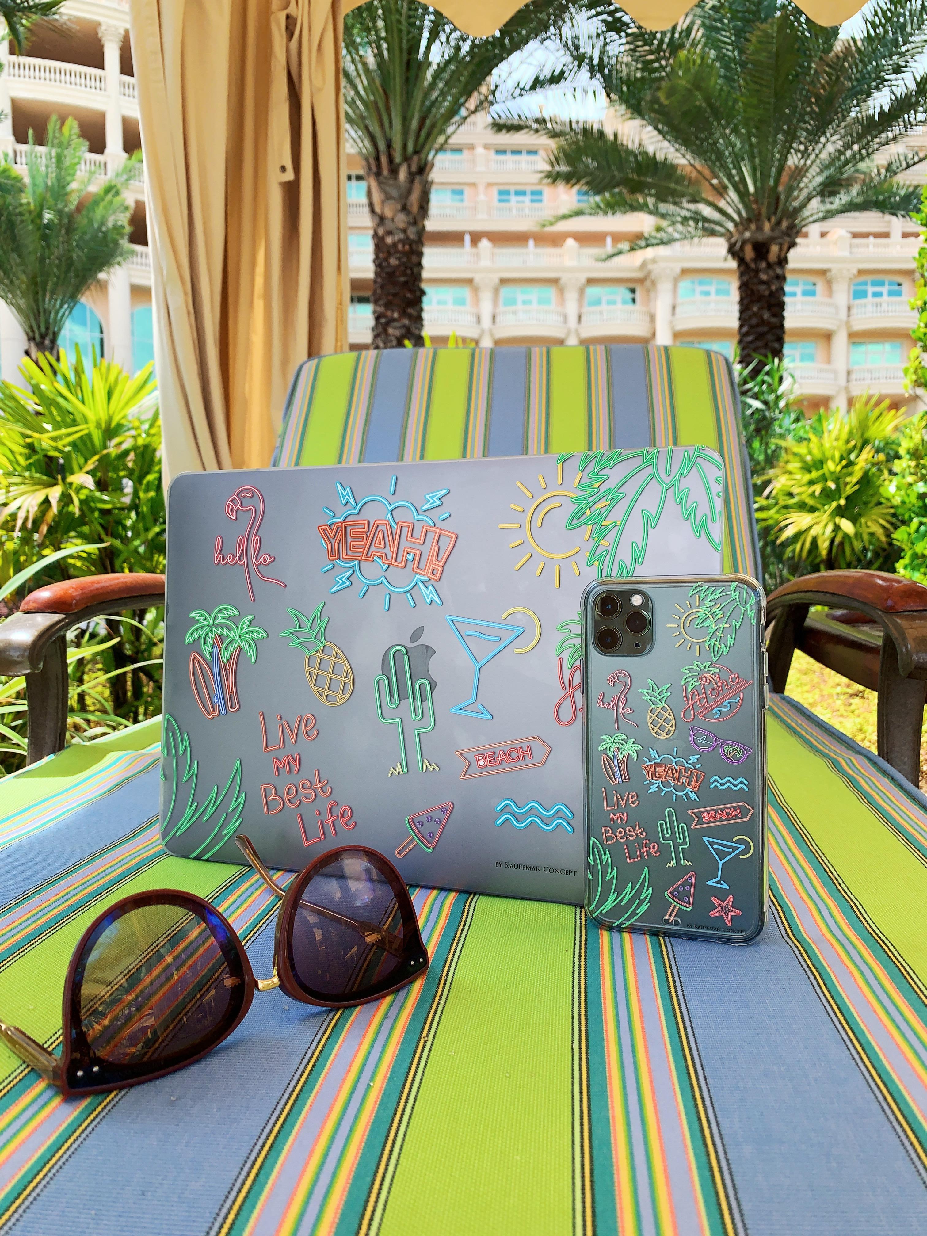Премиум-кейс на MacBook #ALOHA
