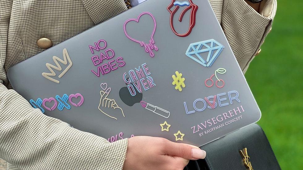 Премиум-кейс на MacBook No Bad Vibes