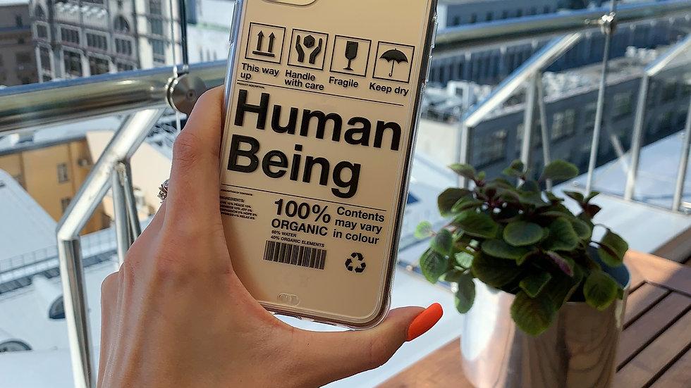 Ultra-matte премиум-кейс на iPhone HUMAN BEING