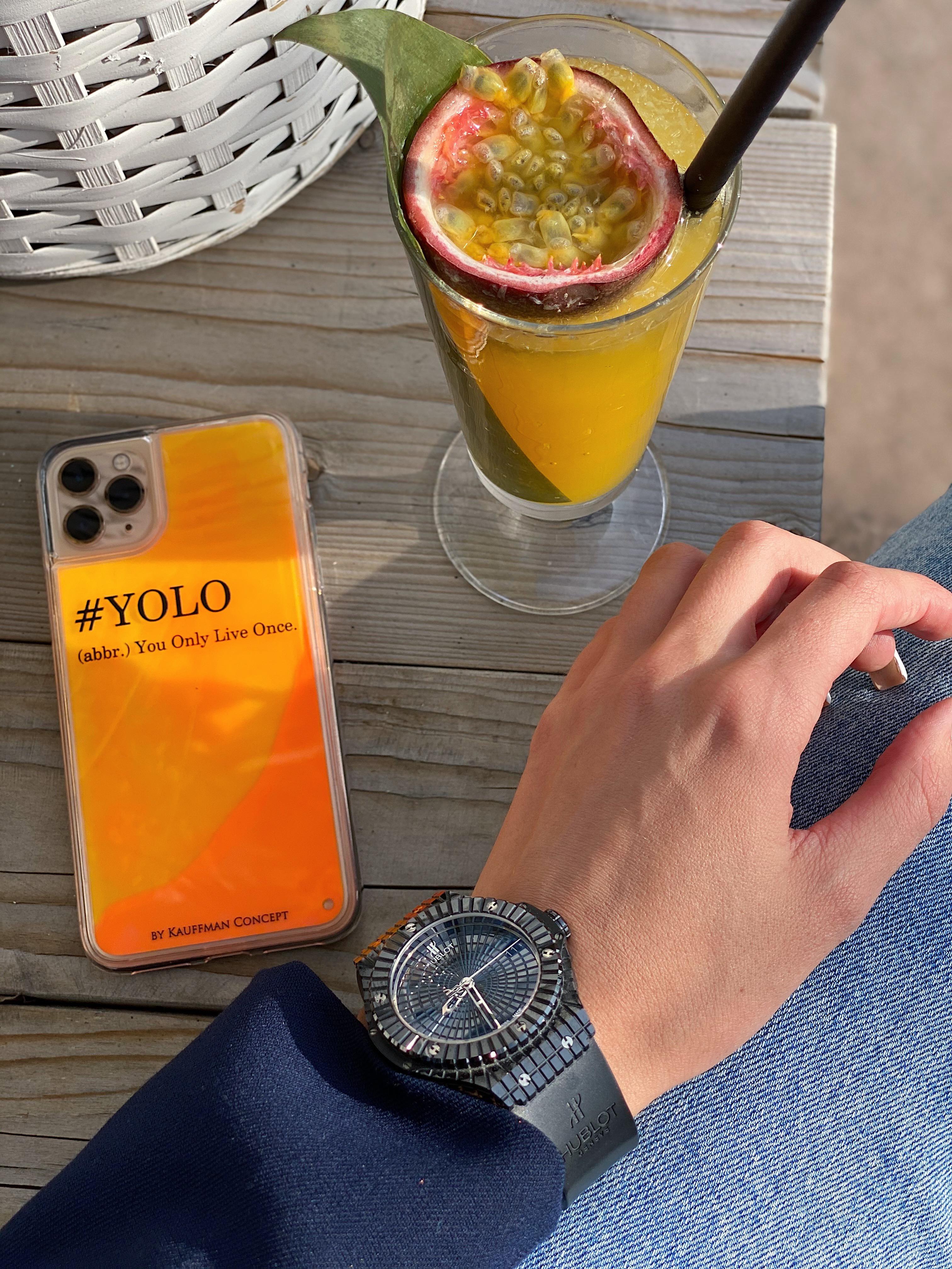 Neon Sand Case #YOLO